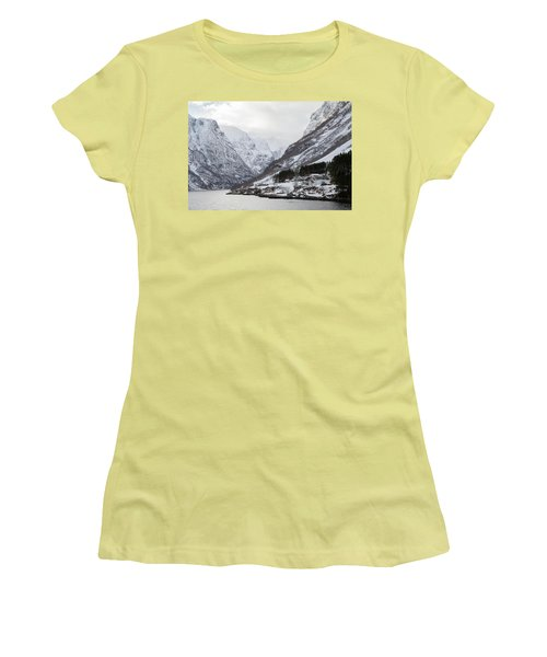 Women's T-Shirt (Athletic Fit) featuring the photograph A Quiet Life by David Chandler