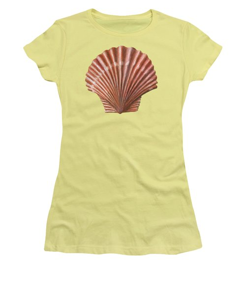 A Quincunx Of Scallop Shells Women's T-Shirt (Athletic Fit)