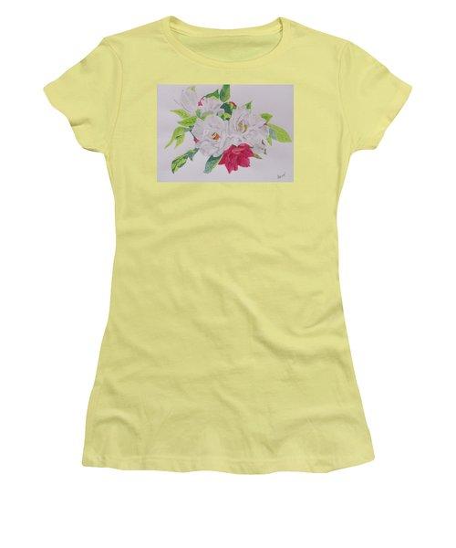 A Rose Bouquet Women's T-Shirt (Athletic Fit)