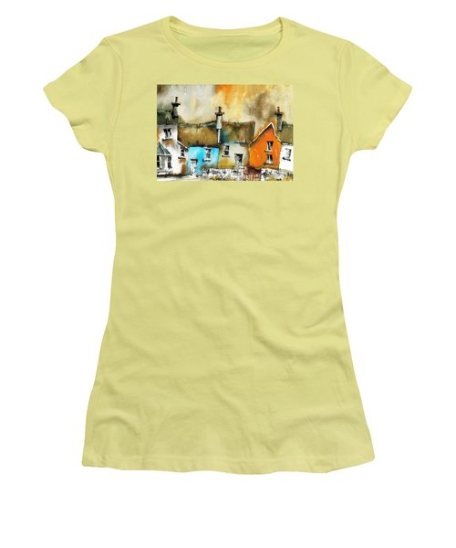 A Row Of Colour Women's T-Shirt (Athletic Fit)