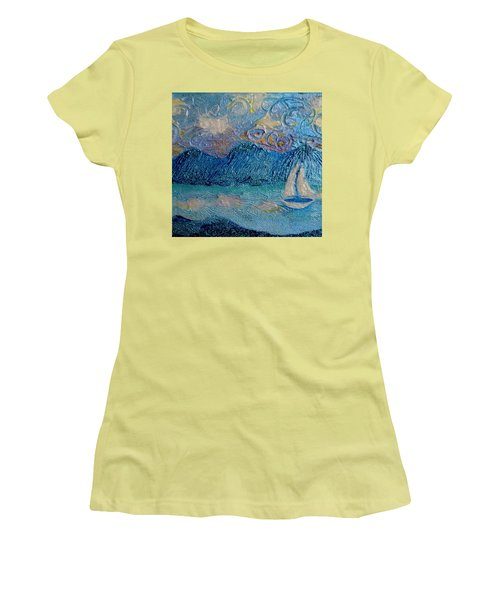A Sailboat For The Mind #2 Women's T-Shirt (Athletic Fit)