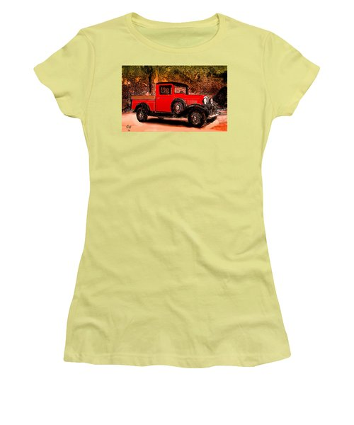 A Southern Ford Women's T-Shirt (Junior Cut) by J Griff Griffin