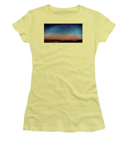 A Speck Amongst A Billion Fiery Sparks Women's T-Shirt (Athletic Fit)