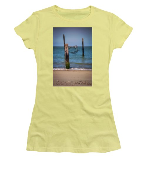 A Study Of Threes Women's T-Shirt (Junior Cut) by David Cote