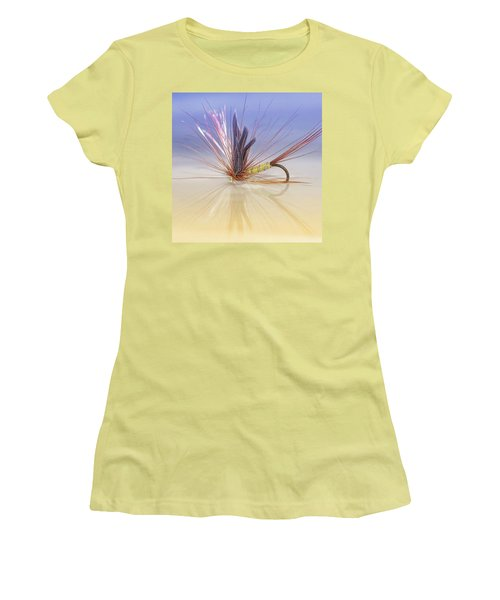 A Trout Fly (greenwell's Glory) Women's T-Shirt (Junior Cut) by John Edwards