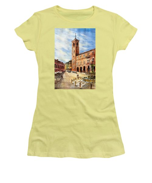 A View From Fabriano Women's T-Shirt (Athletic Fit)