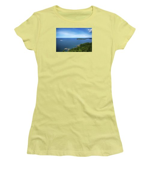 A View From Sugarloaf Mountain Women's T-Shirt (Athletic Fit)