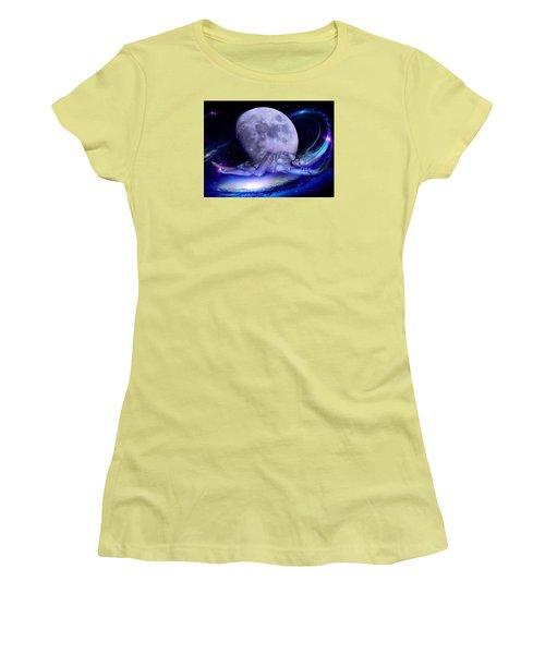 A Visit From Venus Women's T-Shirt (Junior Cut) by Glenn Feron