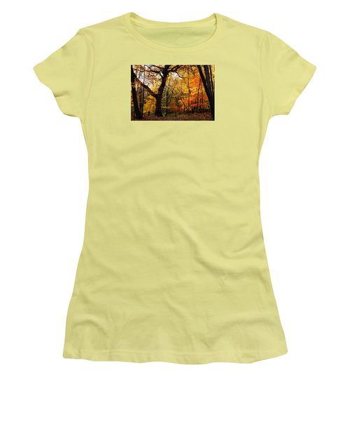 A Walk In The Woods 3 Women's T-Shirt (Athletic Fit)