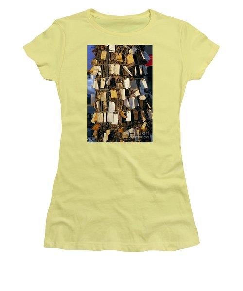 A Wishing Tree With Many Requests Women's T-Shirt (Junior Cut) by Yali Shi