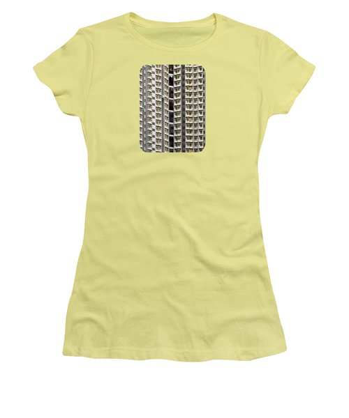 Women's T-Shirt (Junior Cut) featuring the photograph A Work In Progress by Ethna Gillespie