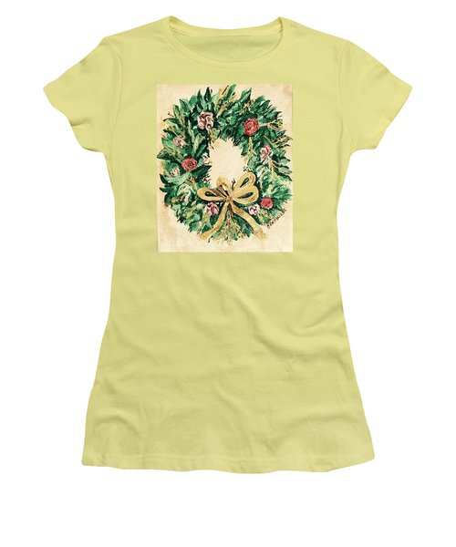 A Wreath  Women's T-Shirt (Athletic Fit)