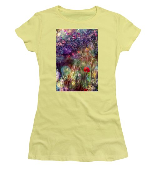 Abandoned Garden Women's T-Shirt (Athletic Fit)