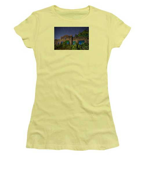 Abandoned Outlaw Gas Station II Women's T-Shirt (Athletic Fit)