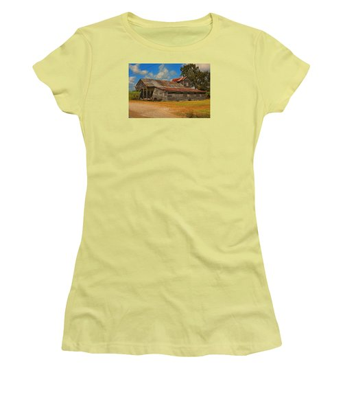 Abandoned Store Women's T-Shirt (Junior Cut) by Ronald Olivier