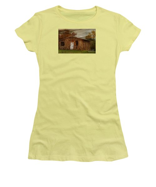 Abandoned Women's T-Shirt (Junior Cut) by Tamera James