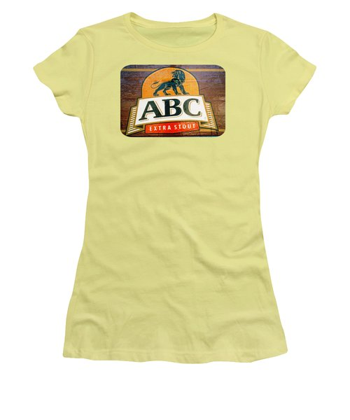 Women's T-Shirt (Junior Cut) featuring the photograph Abc Stout by Ethna Gillespie