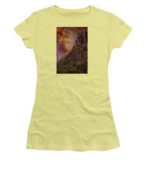 Women's T-Shirt (Junior Cut) featuring the photograph Aboriginal Dreamtime by Charles Warren