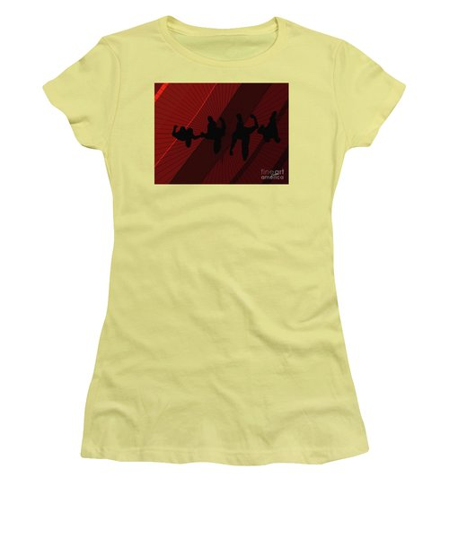 Above Perspective Women's T-Shirt (Athletic Fit)
