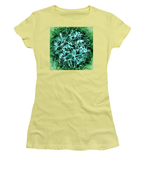Abstract 3 Women's T-Shirt (Junior Cut) by Patricia Lintner