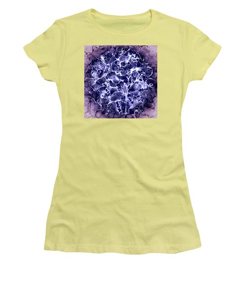 Abstract 4 Women's T-Shirt (Junior Cut) by Patricia Lintner