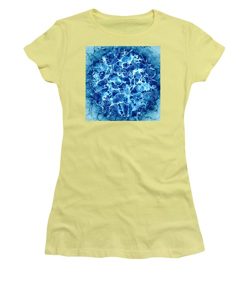 Abstract 5 Women's T-Shirt (Junior Cut) by Patricia Lintner