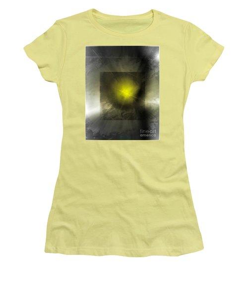 Abstract 533-2016 Women's T-Shirt (Junior Cut) by John Krakora