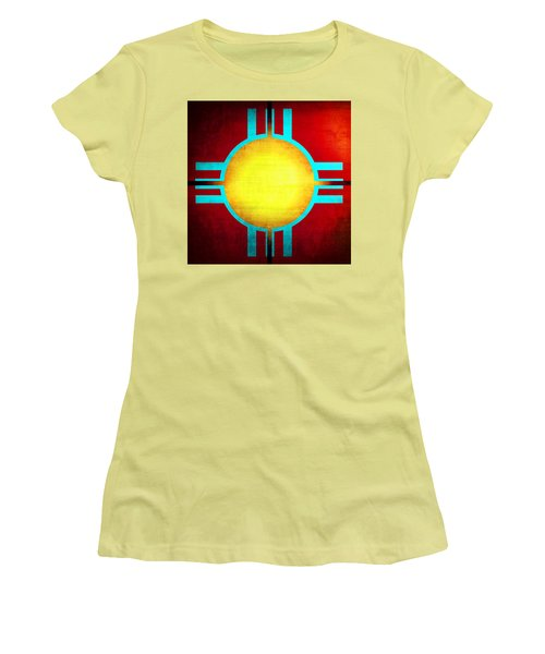 Abstract 98 Women's T-Shirt (Junior Cut) by Timothy Bulone