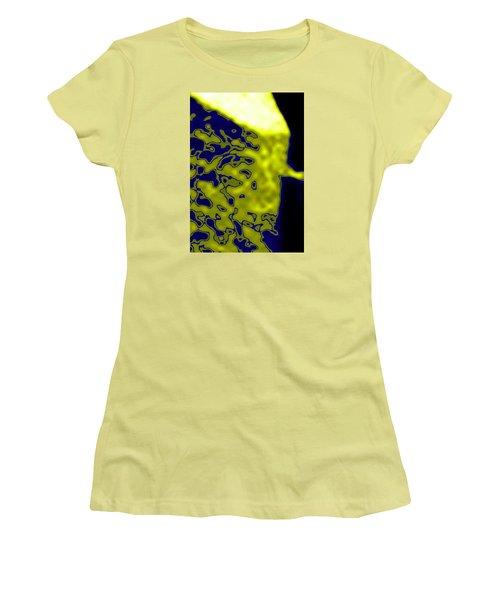 Abstract Digital Women's T-Shirt (Junior Cut) by Dan Twyman