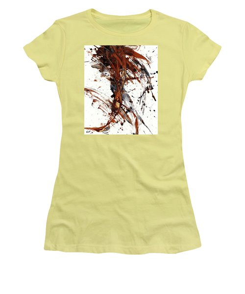 Abstract Expressionism Series 51.072110 Women's T-Shirt (Junior Cut) by Kris Haas