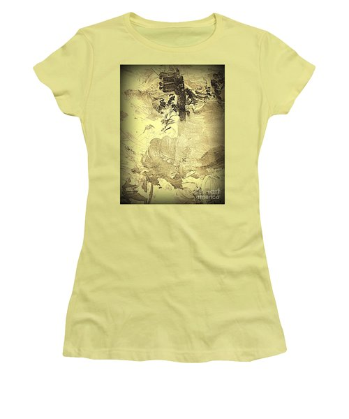 Ancient Melodies Women's T-Shirt (Athletic Fit)
