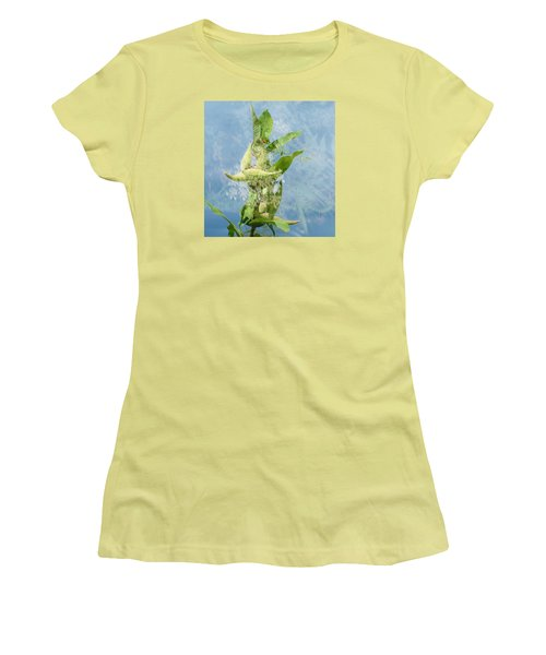 Abstract Milkweed Women's T-Shirt (Athletic Fit)