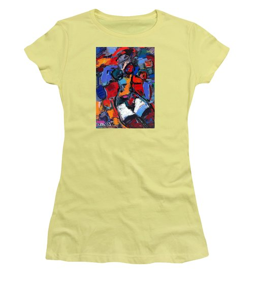 Abstract Nude 05 Women's T-Shirt (Athletic Fit)