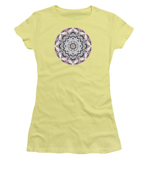 Abstract Octagonal Mandala Women's T-Shirt (Athletic Fit)