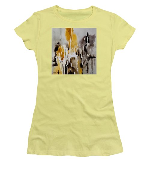 Abstract Scene Women's T-Shirt (Athletic Fit)