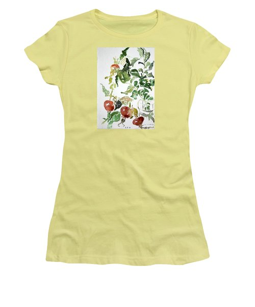Abstract Vegetables Women's T-Shirt (Athletic Fit)