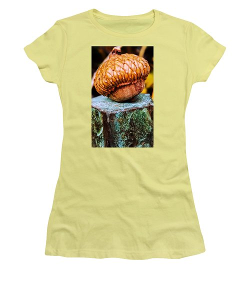 Acorn Women's T-Shirt (Athletic Fit)