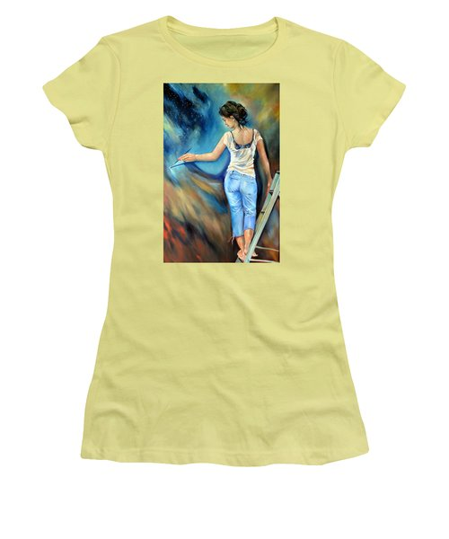 Across The Universe Women's T-Shirt (Athletic Fit)