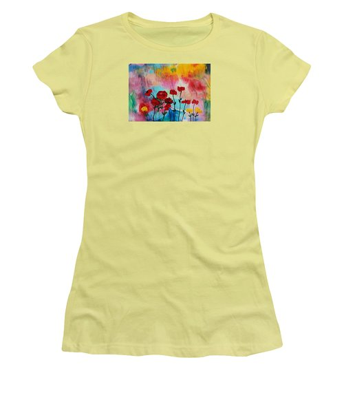 Acrylic Msc 101 Women's T-Shirt (Junior Cut) by Mario Sergio Calzi