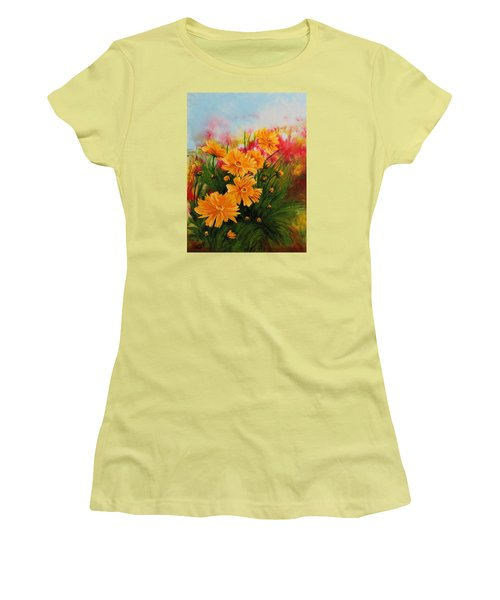 Acrylic Msc 216 Women's T-Shirt (Junior Cut) by Mario Sergio Calzi