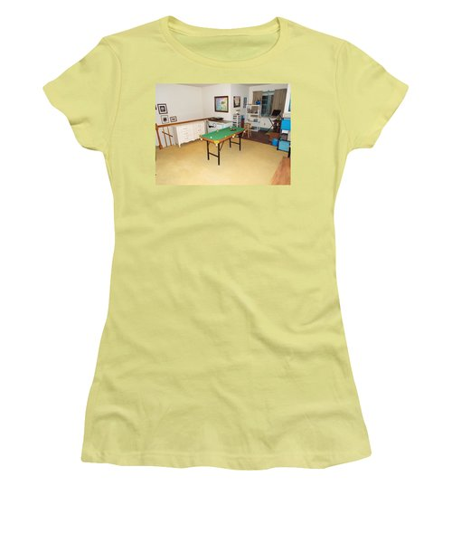 Activity Room Women's T-Shirt (Athletic Fit)