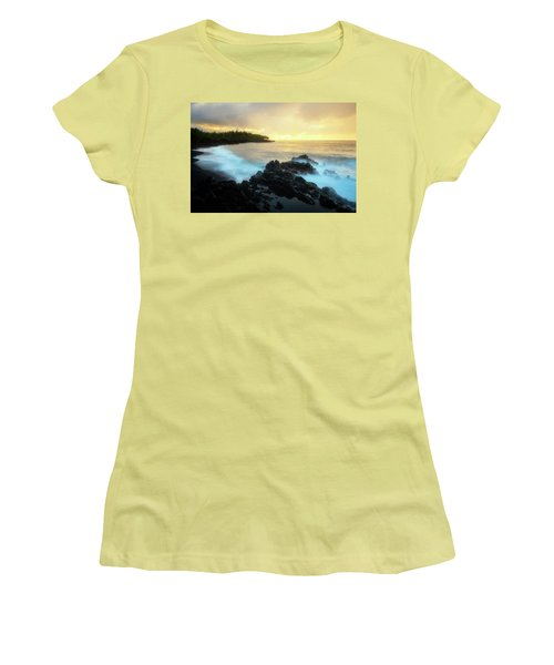 Women's T-Shirt (Junior Cut) featuring the photograph Adam And Eve by Ryan Manuel