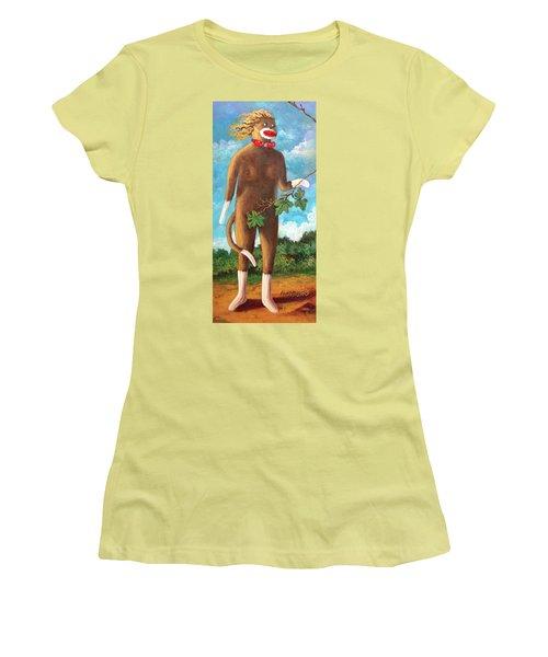 Adam  Women's T-Shirt (Junior Cut) by Randy Burns