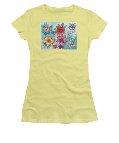 Adele's Garden Women's T-Shirt (Athletic Fit)