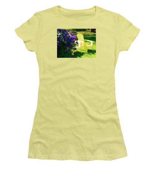 Adirondack Summer Days Women's T-Shirt (Athletic Fit)