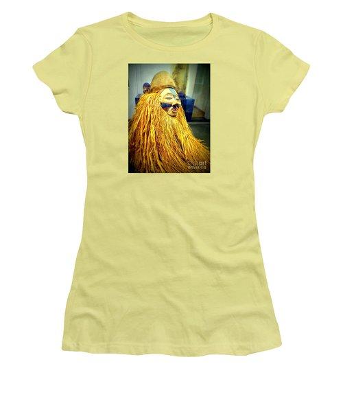African Artifact Women's T-Shirt (Junior Cut) by John Potts