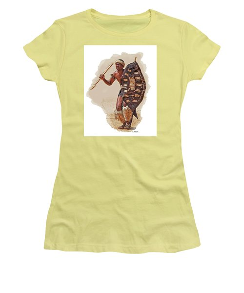 African Tribal Traditions 1 Women's T-Shirt (Athletic Fit)