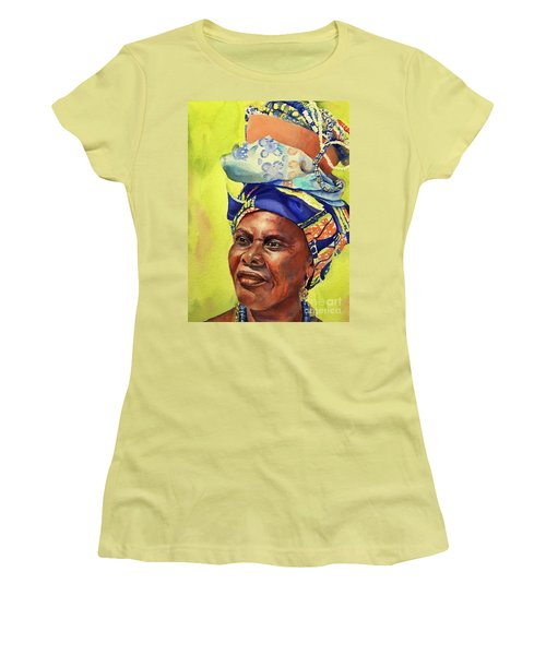 African Woman Women's T-Shirt (Athletic Fit)