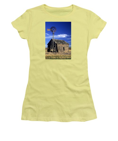 After Harvest Women's T-Shirt (Athletic Fit)