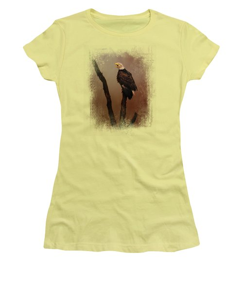 After The Autumn Storm Women's T-Shirt (Athletic Fit)